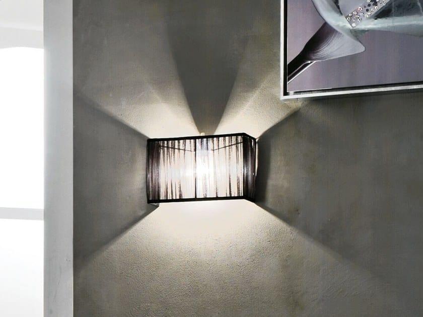 Fabric wall light ORGANZA   Wall light by Adriani e Rossi edizioni
