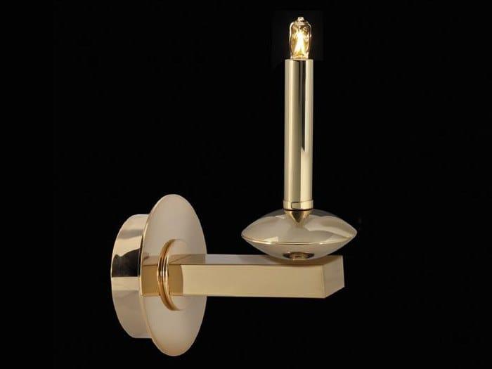 Applique a luce indiretta in ottone SHARON   Applique by Aiardini