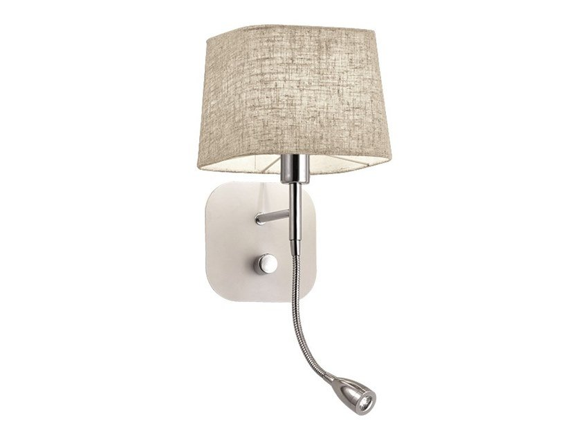 Steel and PVC wall light with swing arm HENDRIX | Wall light by Terzo Light