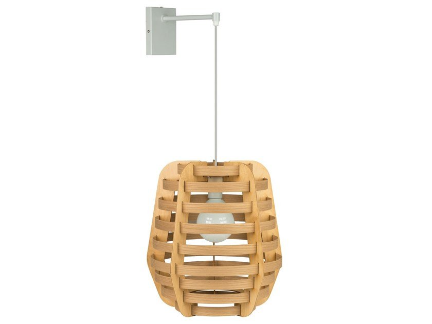 Wooden wall light TWIG | Wall light by Brossier Saderne