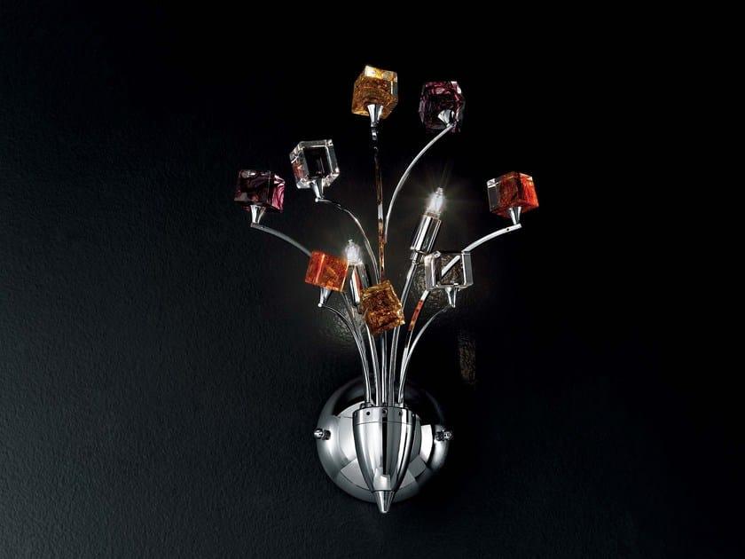 Crystal wall light DADO | Wall light by IDL EXPORT