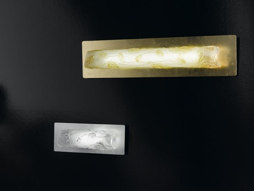 Indirect light Murano glass wall light TUBEROSE | Wall light by IDL EXPORT