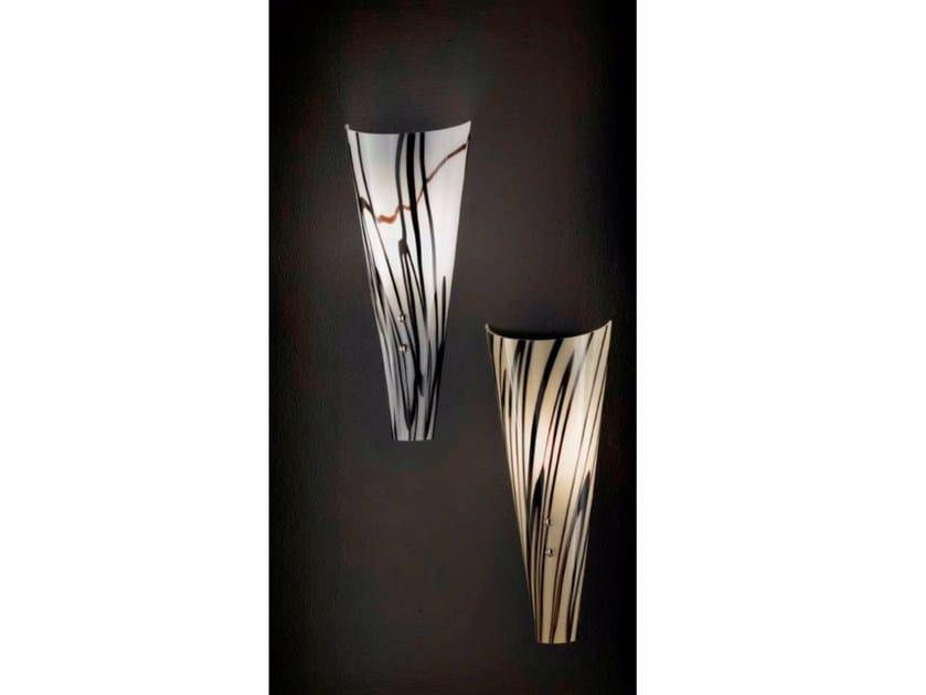 Indirect light Murano glass wall light INKA | Wall light by IDL EXPORT