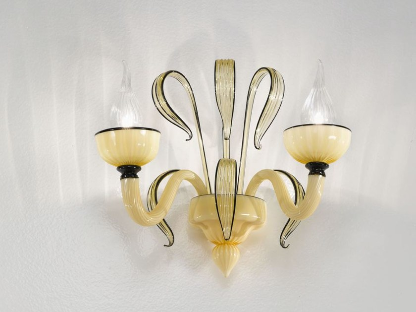 Murano glass wall light EPOQUE | Wall light by IDL EXPORT