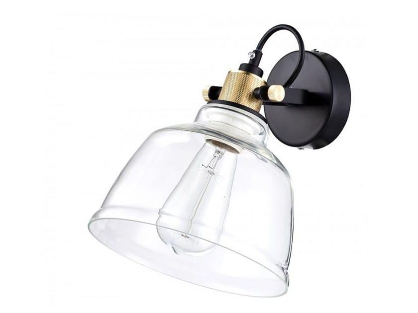 Maytoni Lighting Irving Loft Sconce 1 Light Wall Light Black Grey Fixture