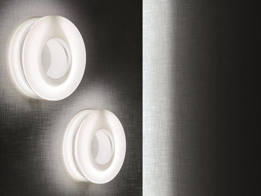 LED polyethylene wall light RAINY DAY | Wall light by Pallucco