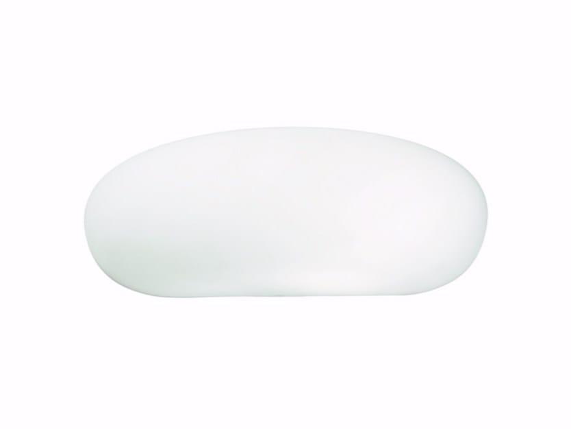 Applique a luce indiretta in vetro soffiato GLENN | Applique by ROSSINI