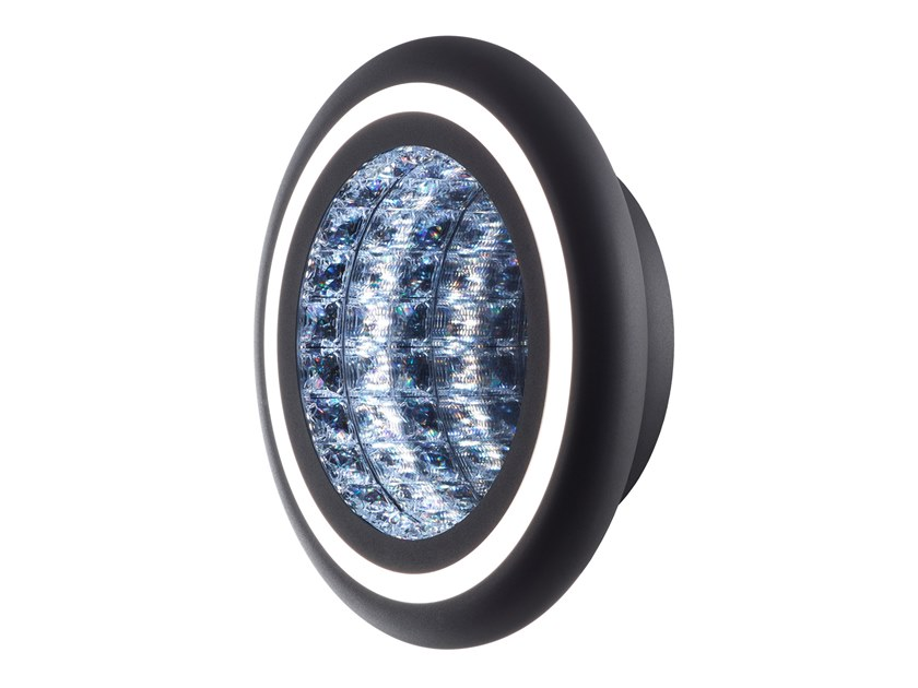 LED wall light with Swarovski® crystals INFINITE AURA | Wall light by Swarovski