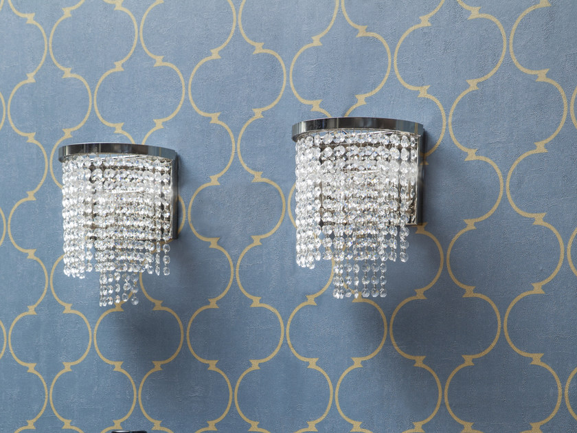 Wall light with crystals SANTENA | Wall light by Tonin Casa