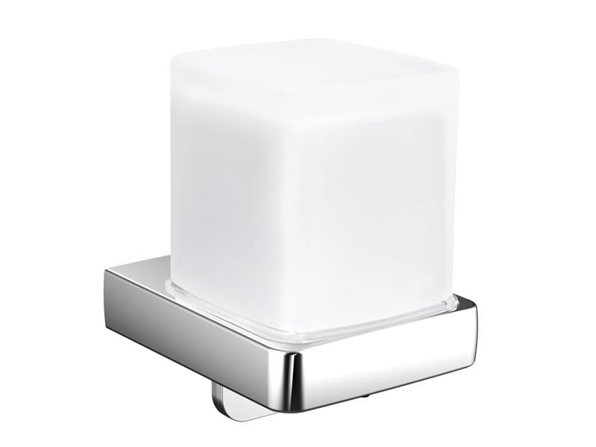 Wall-mounted glass Bathroom soap dispenser TREND   Wall-mounted Bathroom soap dispenser by Emco Bad