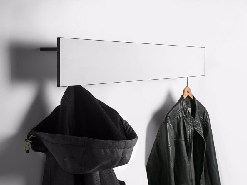 Wall-mounted HPL coat rack Wall-mounted coat rack by conmoto