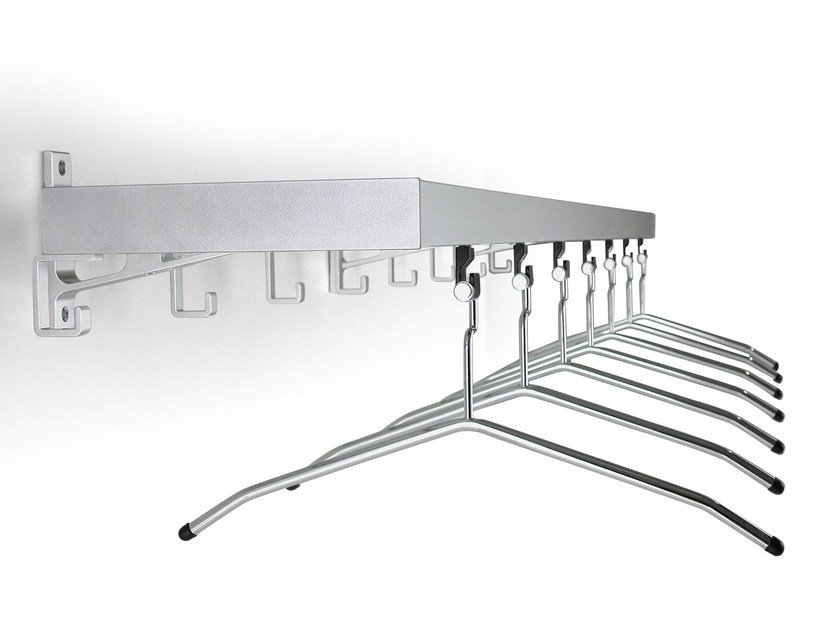 Wall-mounted steel coat rack ARCO | Wall-mounted coat rack by rosconi