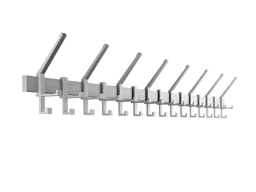 Wall-mounted steel coat rack ARTISTA | Wall-mounted coat rack by rosconi