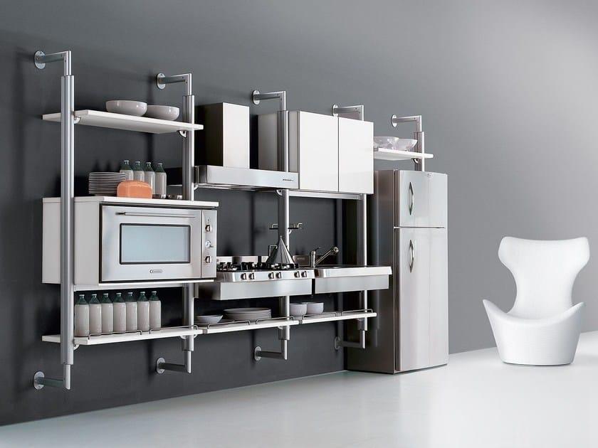 SYSTEMATICA | Cucina sospesa Collezione Systematica By Oikos Cucine ...