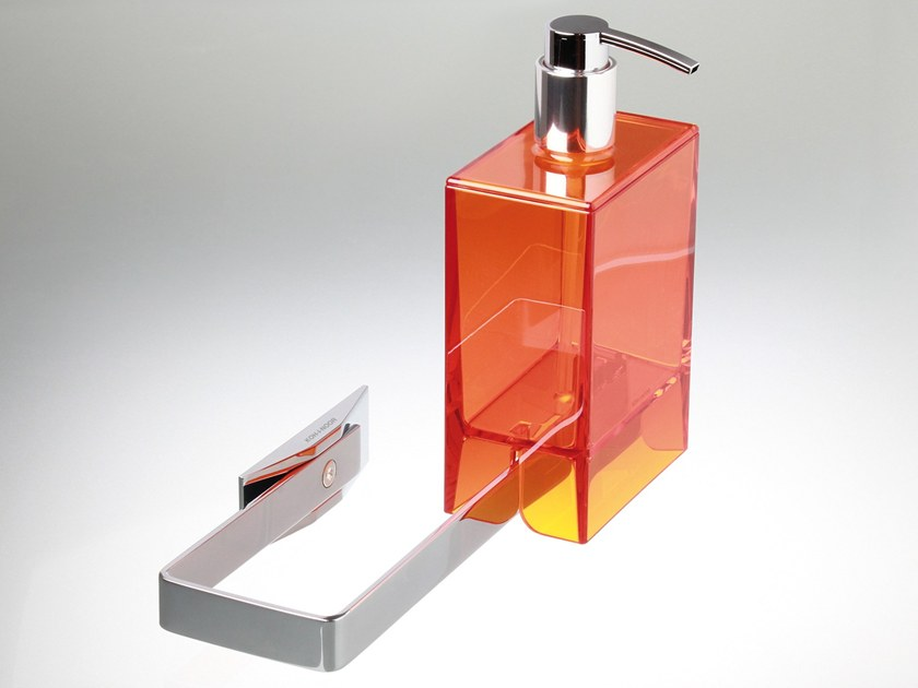 Wall-mounted liquid soap dispenser LEM2.T | Wall-mounted liquid soap dispenser by KOH-I-NOOR
