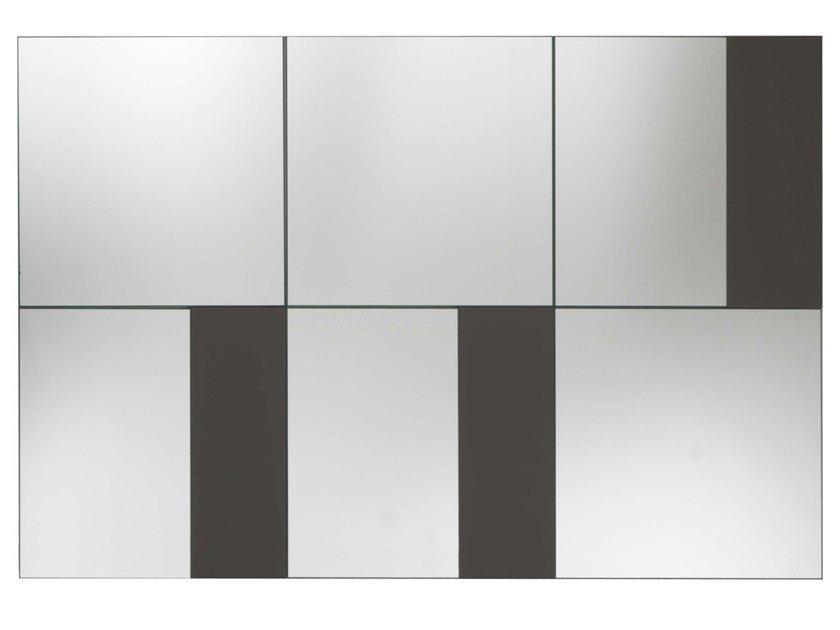 Rectangular wall-mounted mirror STRIP | Wall-mounted mirror by JESSE