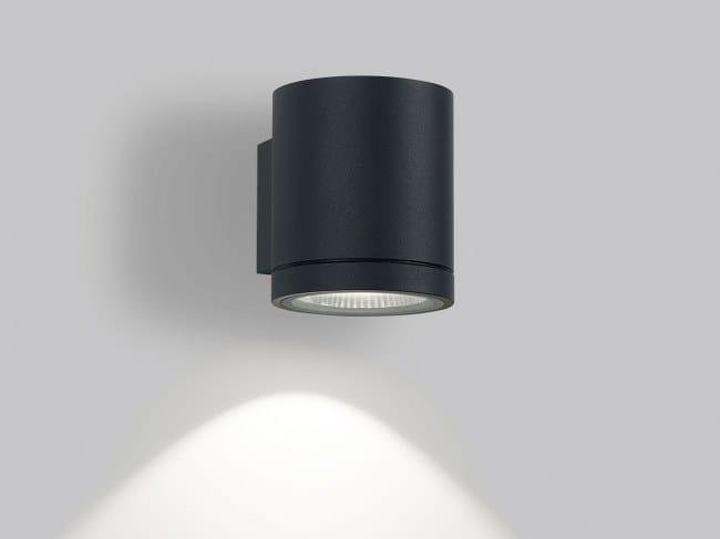 Faretto per esterno a LED da parete DOX | Faretto per esterno da parete by Delta Light