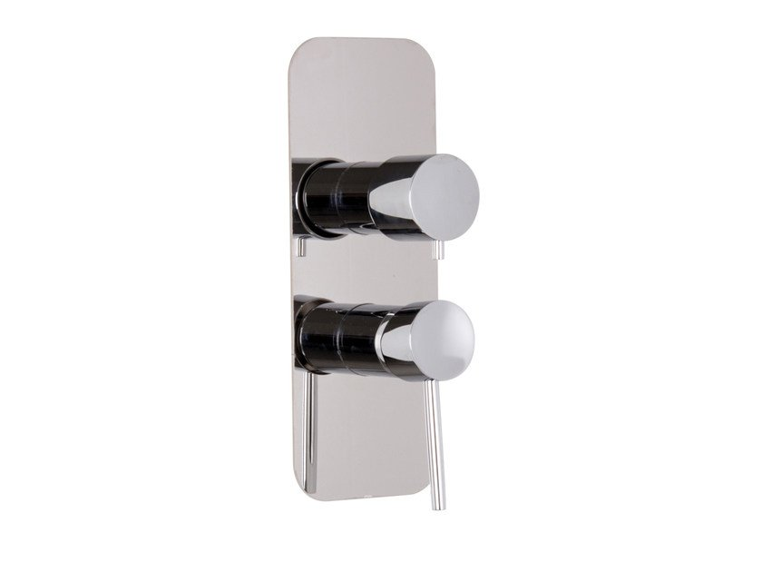 Wall-mounted chromed brass remote control tap DE SOTO F3659X6 | Remote control tap by FIMA Carlo Frattini
