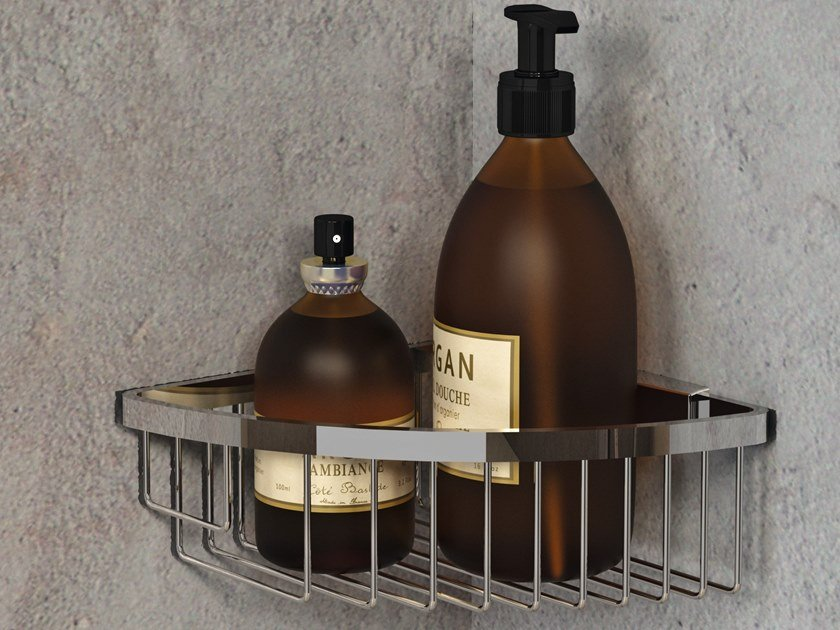 Wall-mounted stainless steel soap dish Wall-mounted soap dish by NOVELLINI