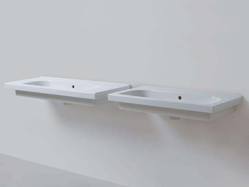 Rectangular wall-mounted washbasin CULT | Rectangular washbasin by AZZURRA sanitari