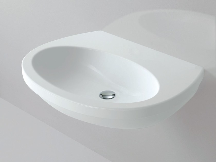 Wall-mounted washbasin CULT | Wall-mounted washbasin by AZZURRA sanitari