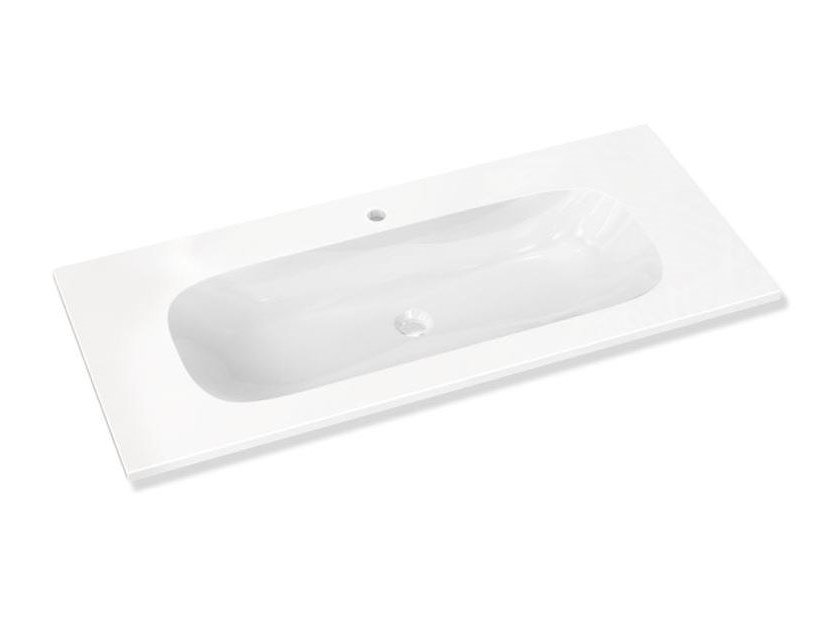 Oval single wall-mounted washbasin Wall-mounted washbasin by HEWI