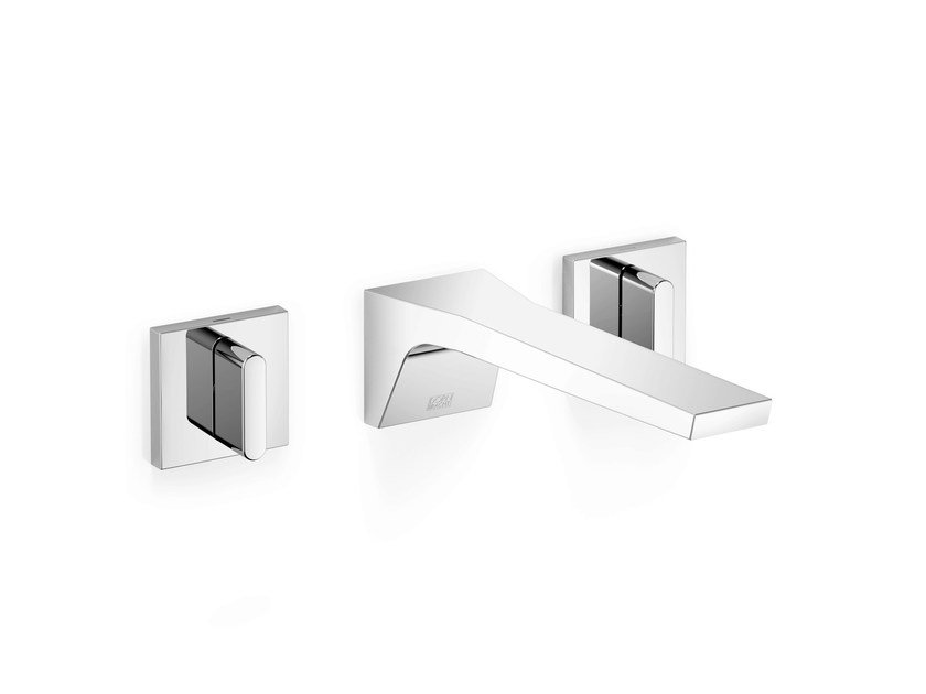 3 hole wall-mounted washbasin tap CL.1 | Wall-mounted washbasin tap by Dornbracht