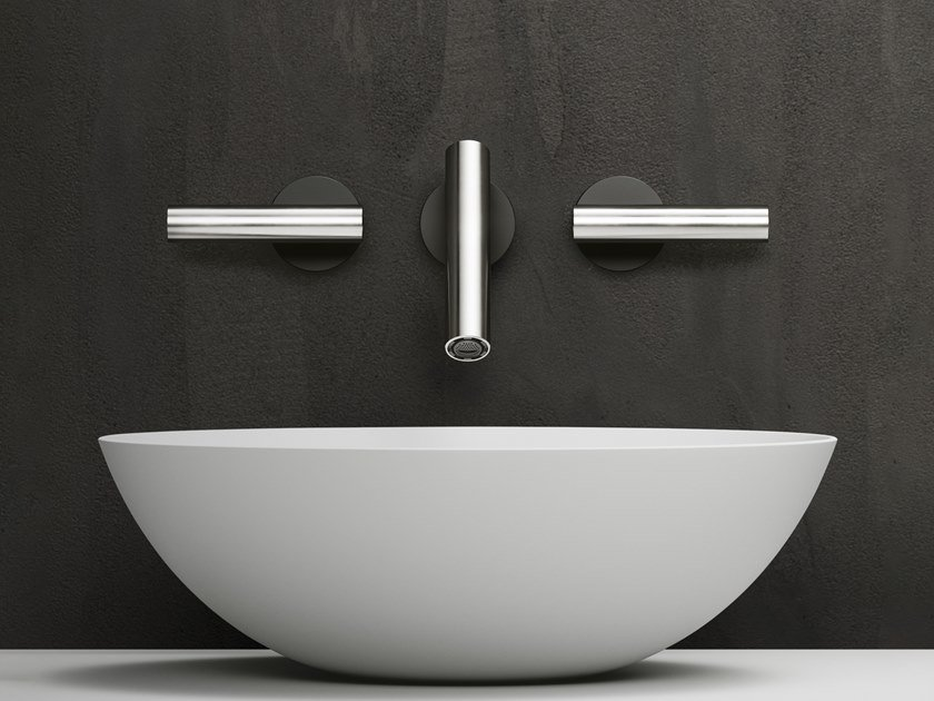CILINDRO | Robinet pour lavabo mural