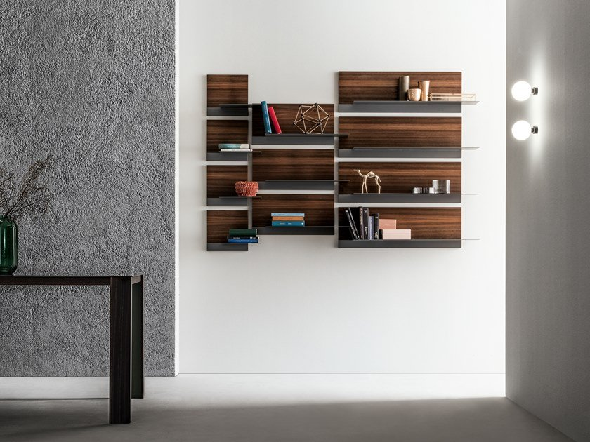Mensola in acciaio e legno TWIGGY | Mensola by Capo d'Opera