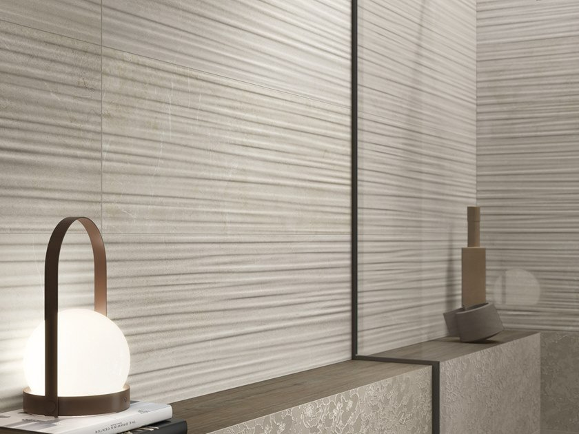 Ceramic wall tiles with marble effect COAST ROAD   Wall tiles by Supergres