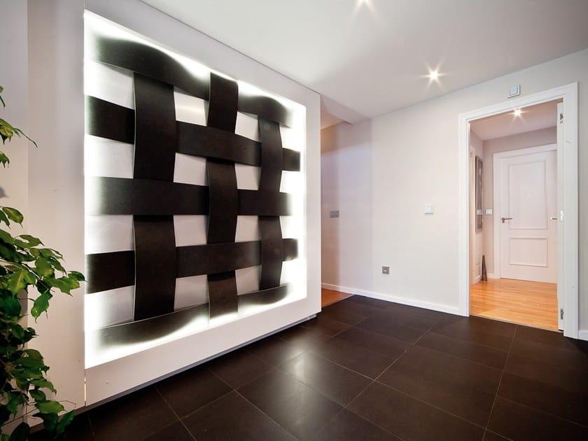 Azulcascais piastrelle con superficie tridimensionale collezione