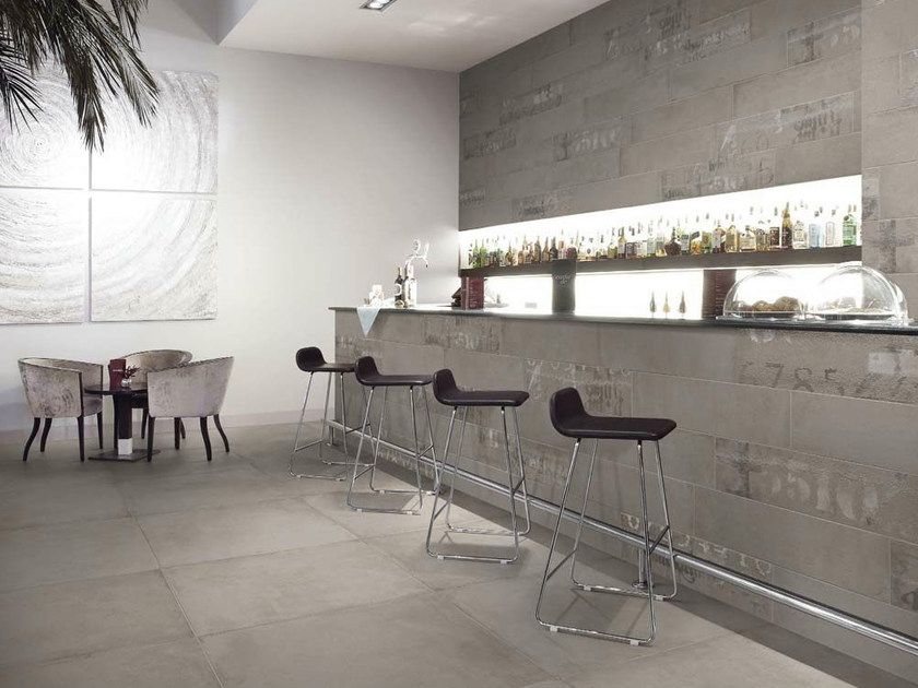Single-fired ceramic wall tiles GLANCE DECORI by Panaria Ceramica