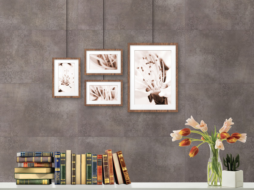 LVT wall tiles with stone effect EVOLUTION VERTICAL   Wall tiles with stone effect by Virag