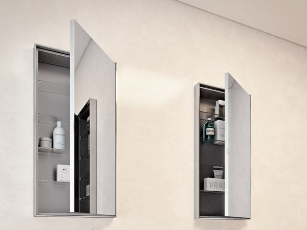 Wall Bathroom Wall Cabinet With Mirror By Makro