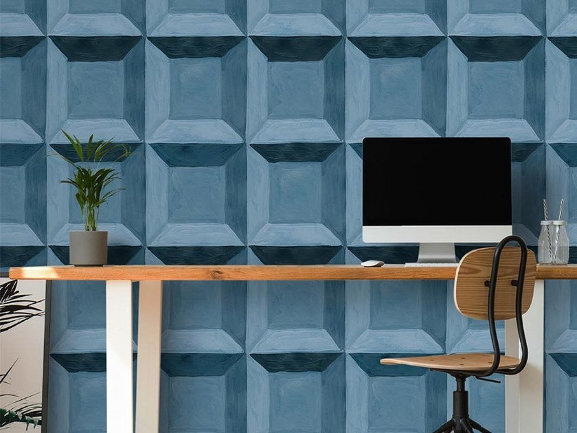 Industrial and modern wallpaper, PVC free, eco, washable WALL01 by Wallpepper