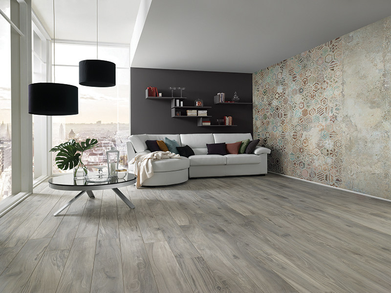 Motif nonwoven wallpaper WALLPAPER NATURAL MATERA by AVA Ceramica