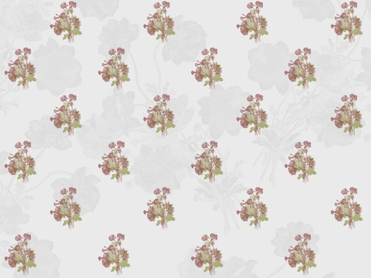 Wallpaper with floral pattern GRAZIE DEI FIOR... by Wallpepper