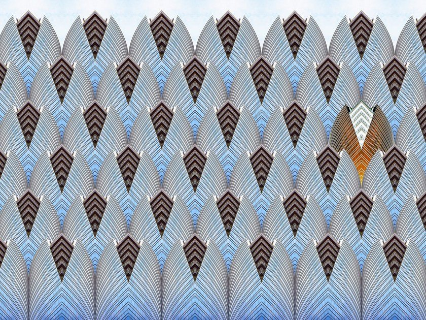 Optical wallpaper ARCHI 0066.6AB.2.300X500 by Wallpepper