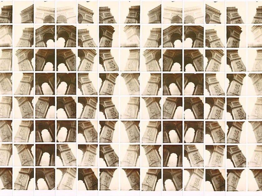 Motif wallpaper TRIOMPHE B&W by Wallpepper