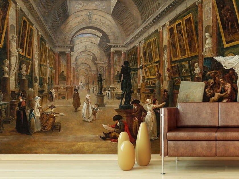 Trompe l'oeil wallpaper VEDUTA DELLA GRANDE GALERIE DEL LOUVRE by Wallpepper
