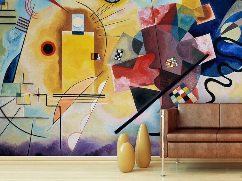 Wallpaper JAUNE, ROUGE, BLEU by Wallpepper