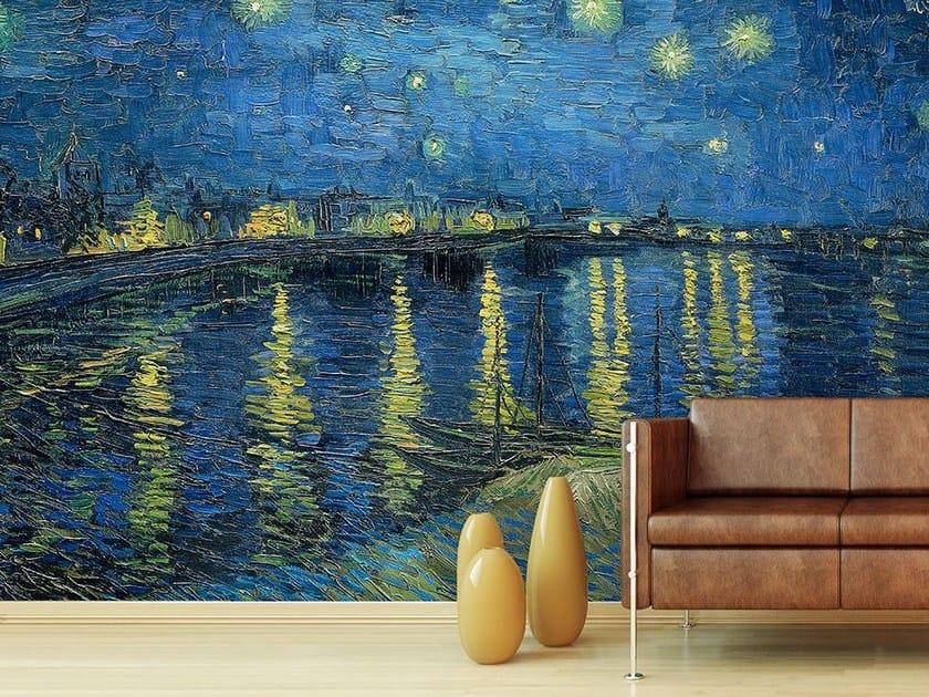 Trompe l'oeil wallpaper LA NOTTE STELLATA by Wallpepper