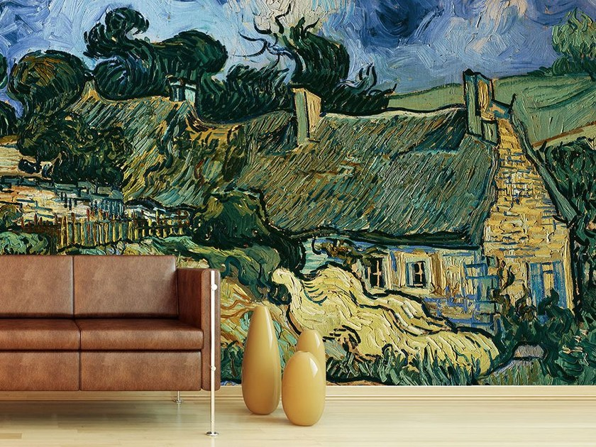 Wallpaper CHAUMES DE CORDEVILLE A AUVERS-SUR-OISE by Wallpepper