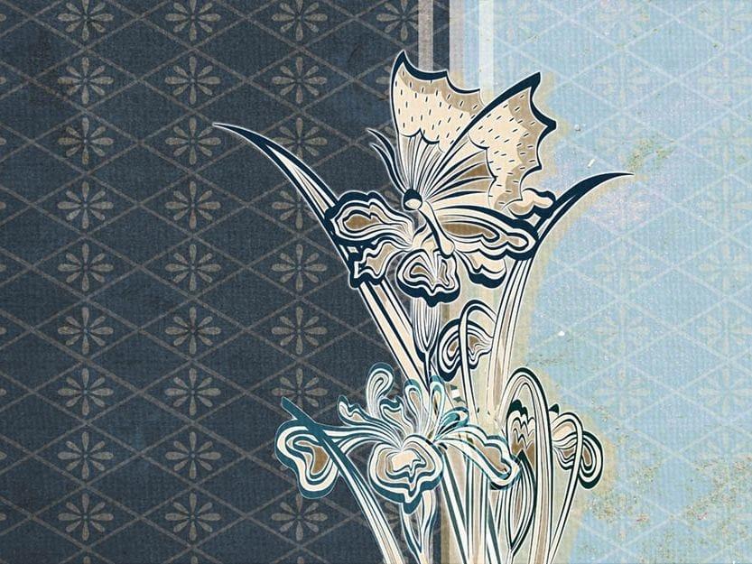 Wallpaper FLOWER BUNCH by Wallpepper