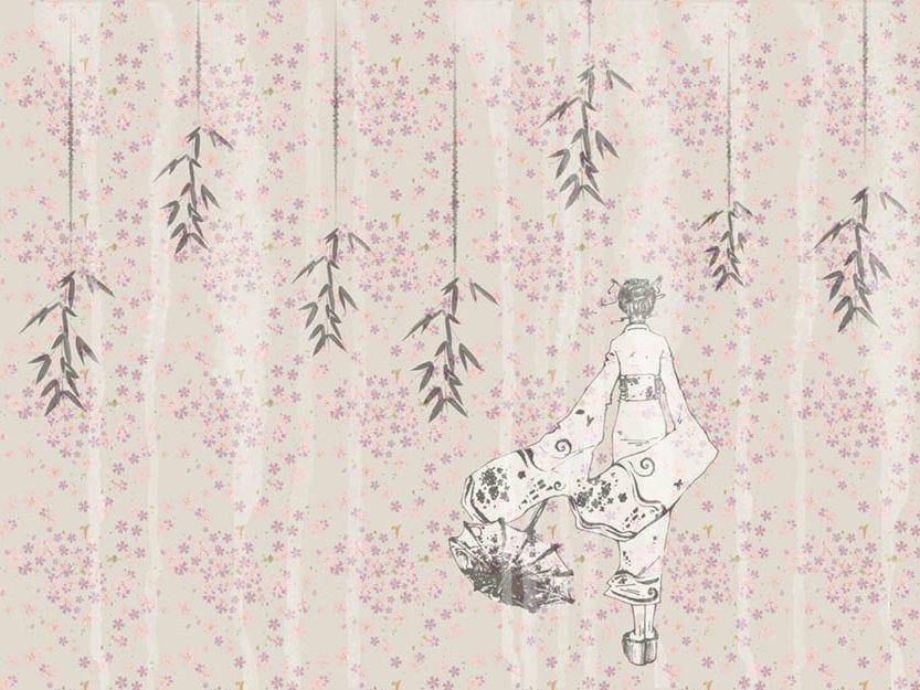 Wallpaper BAMBOO by Wallpepper