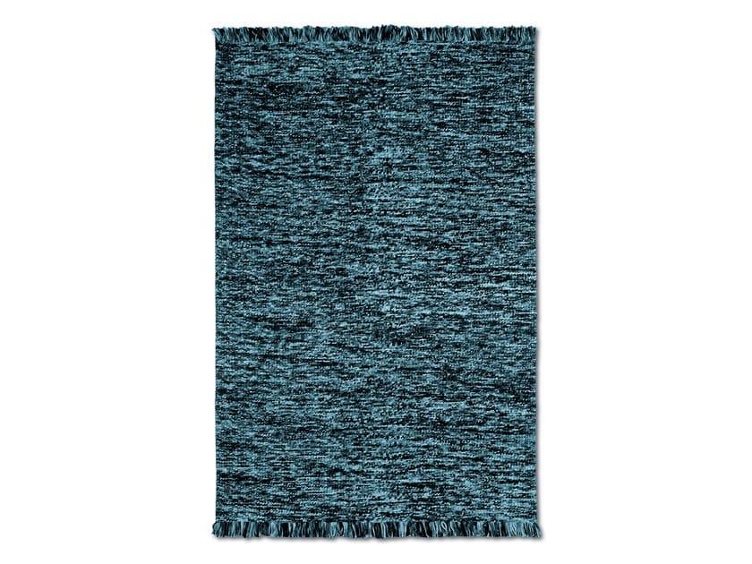 Soft mélange wool handwoven rug WALMER by MissoniHome