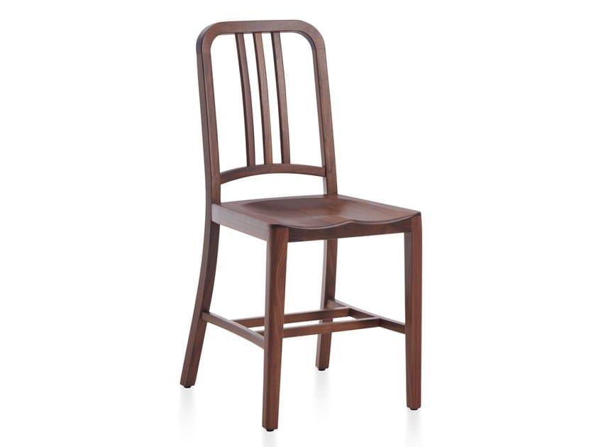Walnut chair NAVY WOOD   Walnut chair by Emeco