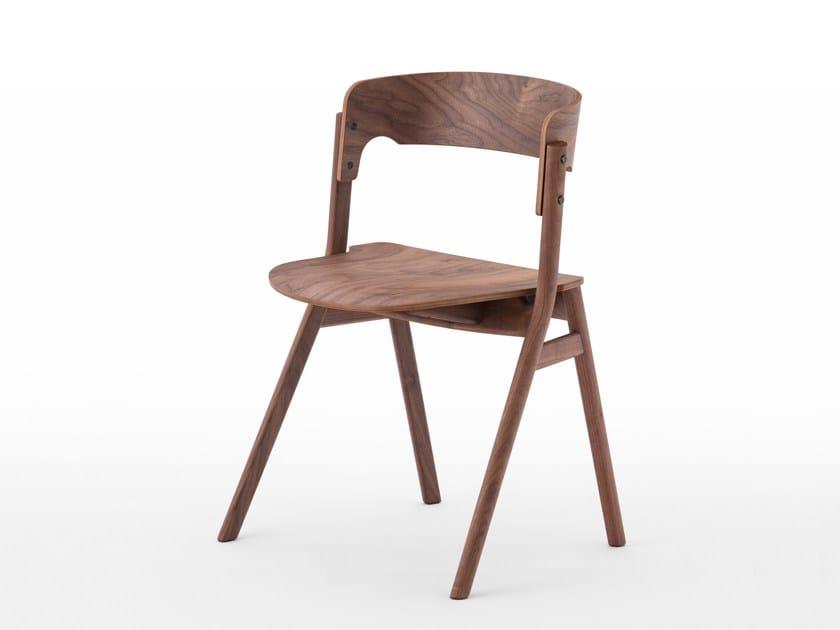 Walnut chair SALLY   Walnut chair by MEETEE