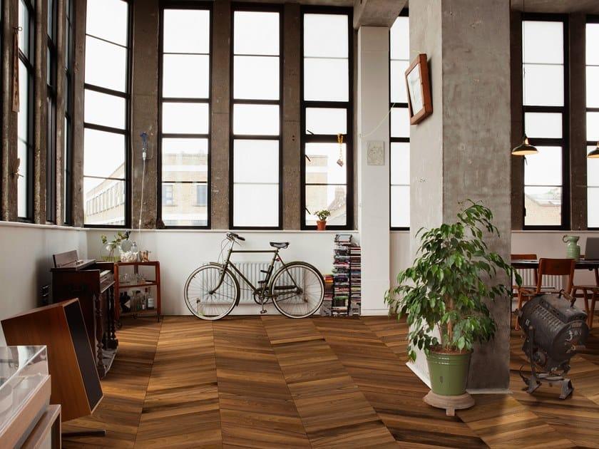 2 layers prefinished walnut parquet LOFT | Walnut parquet by Unikolegno