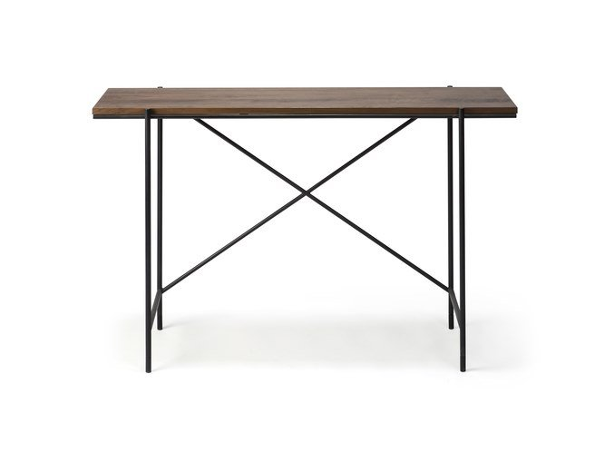 Rectangular walnut console table WALNUT RISE | Console table by Ethnicraft